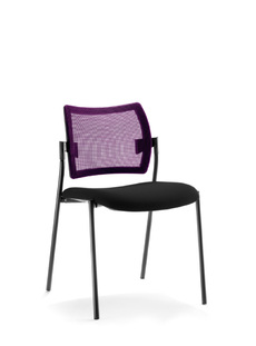 CHAISE DOSSIER RESILLE ASSISE TISSU